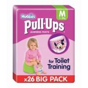 Huggies Pull-Ups Girl Pacco Grande Taglia M (26 pannolini)