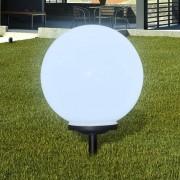 vidaXL Соларна LED лампа - сфера за градината, 40 см.