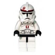 LEGO Star Wars Clone Trooper Mini Figure (Episode 3, Dark Red Markings)