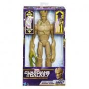 Hasbro guardians of the galaxy - personaggio groot titan hero