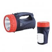 Lanterna LED 5W cu Acumulator si Panou 25 LED-uri YJ2829