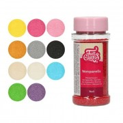 Cake Supplies Sprinkles de perlas mini de colores de 80 g - FunCakes - Color Azul