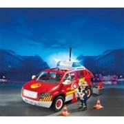 Masina Capitanului De Pompieri Cu Lumini Si Sunete