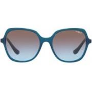 Vogue Retro Square Sunglasses(Brown)