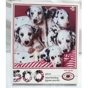 Hot Spots Puzzler's Choice 500 Piece Dalmatian Puppy Puzzle
