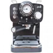 Ръчна еспресо кафемашина Arielli KM-501B, 1100W, 15 bar, 1.25л резервоар, черна