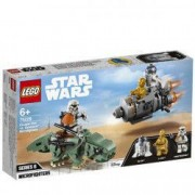 LEGO Star Wars Capsula de salvare contra Dewback Microfighter 75228 pentru 6+