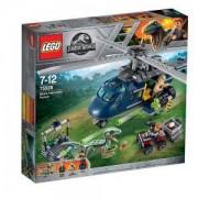 Конструктор Лего Джурасик Свят - Преследване с хеликоптер, LEGO Jurassic World, 75928