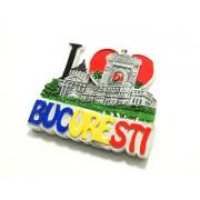 Suvenir magnet, I Love Bucuresti