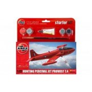 Kit Constructie Airfix Avion Hunting Percival Jet Provost T.4 Starter Set 1:72