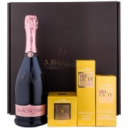 La Montina Franciacorta Set Lady Case Rose Demi Sec 0.75L