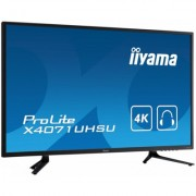 IIYAMA Monitor 39.5 X4071UHSU-B1 4K MVA,DP,2xHDMI,4ms,USB,PIP,2x6w - DARMOWA DOSTAWA!!!