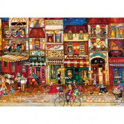 Ravensburger puzzle strazile frantei, 1000 piese