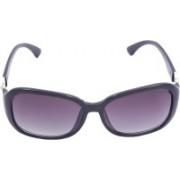 Miami Blues Oval Sunglasses(Violet)