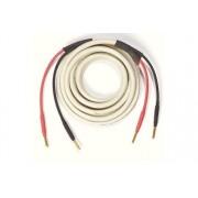 Ecosse Cables CS2.3 med banankontakter 2 x 3 meter Vit