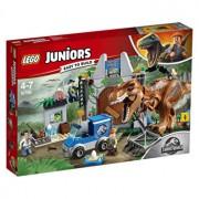 LEGO Juniors - Jurassic World, Evadarea lui T. Rex 10758