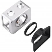 PULUZ Para Sony RX0 Jaula De Protección De Aleación De Aluminio(Plata)