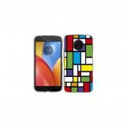 Funda Para Celular Motorola E4 Plus Cubos Colores 2