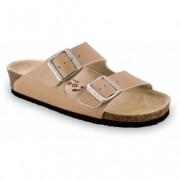GRUBIN ženske papuče 0033510 ARIZONA Bež
