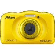 Digitalni foto-aparat Nikon Coolpix W100, Žuti, Set (sa rancem)