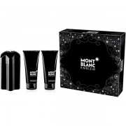 Mont Blanc Emblem Комплект (EDT 100ml + SG 100ml + AS Balm 100ml) за Мъже