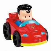 Fisher Price Little People DC Super Friends Wheelies Superman