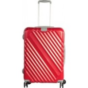 Sprint Spinner 4 Wheel Trolley Case Check-in Luggage - 24 inch(Red)