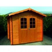 Cabaña de madera Hiedra 300x300 cm para Jardín