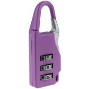 Maxed Digit Pad Luggage P Safety Lock(Purple)