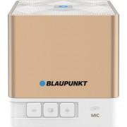 Boxa portabila Blaupunkt BT02GOLD, Bluetooth, FM radio, microSD, AUX