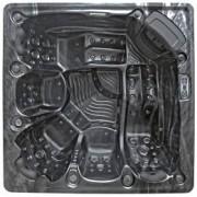 SPAtec Outdoor Whirlpools - SPAtec 850B shadow