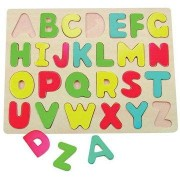 Woody Táblás Puzzle - Ábécé