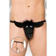 Softline Bull G String Underwear Black 4437