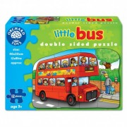 Puzzle fata verso Autobuz 12 piese LITTLE BUS