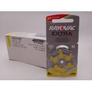 Baterii Rayovac 10 auditive 1.45V BLISTER 6 bucati PR70 UK