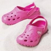 I play aqua sandals baby croc sandaaltjes fuchsia