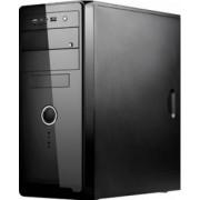 "CARCASA SPIRE ATX, front USB & audio, suport 2x 80mm fan, black, fara sursa ""SP1072B"""