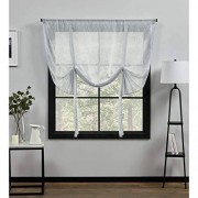 Exclusive Home Curtains Exclusive Home Cortinas belgas, Azul, 1.37 m x 1.60 m, 1