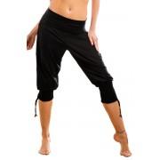 Pantaloni turcesti de dama Fantasia negru L