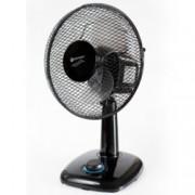 Настолен вентилатор Rohnson R-827, 300mm. диаметър, 3 скорости с LED подсветка, 40W, черен