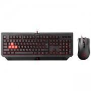 Мишка и клавиатура A4Tech Bloody Blazing B1500 A4 B1500 B110 + V9C DSKTP, Черни