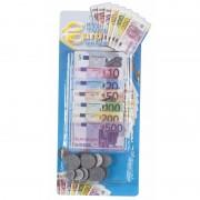 Geen Set van 4x stuks nep geld euros voor kinderen