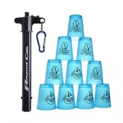 Quick Stacks Cups, 12 Sets Of Sports Stacking Cups With Quick Release Stem Speed Training Game