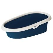 Litiera Minou Large Night Blue, plastic , 58X39X17 cm , litiera pentru pisica Pet Star