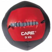 Care Fitness wallball 9 kg rood/zwart