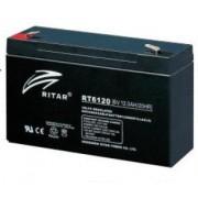 RT6120 6V 12 Ah Zárt ólomzselés akkumulátor (RITAR)