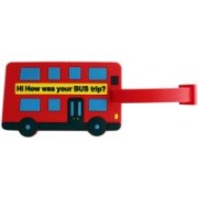Tootpado Hi How Was Your Bus Trip (Pack of 2) -(1i451) Luggage Tag(Red)