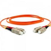 Cordão Óptico Duplex Multimodo 62,5/125µ SC/SC SPC 2,5mts