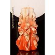 Designkaarsen com Kaars, handgesneden, 22 cm 50570 (zeer exclusief) - kaarsen