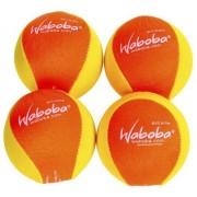 Waboba Extreme Water Bouncing Ball in Bright Neon YELLOW/ORANGE _ Bundle of 4 Balls
